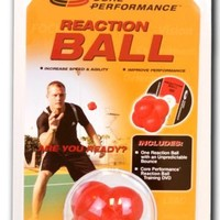Gofit Reaction Ball With Core Performance DVD