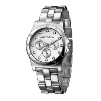 ONETOW MARC BY MARC JACOBS fashion exquisite watch F-PS-XSDZBSH Silver