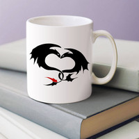 toothless and Night Furys how to train your dragon 2 11 oz ceramic cup mug