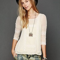 Free People Victoria's Lace Top