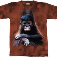 The Mountain Orangutan Baby Monkey Tee T-shirt