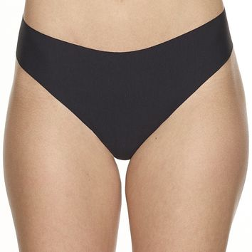 Mid-Rise Commando Butter Seamless Thong Panty