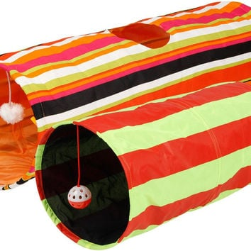 Collapsible Cat Tunnel Toys (2-Pack)