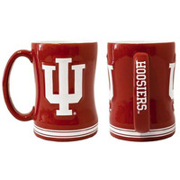 Indiana Hoosiers NCAA Coffee Mug - 15oz Sculpted (Single Mug)