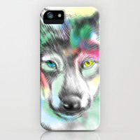 Wolf iPhone & iPod Case by dogooder