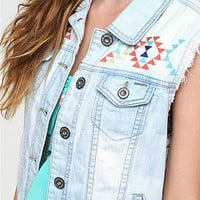 Bullhead Oversized Denim Vest at PacSun.com