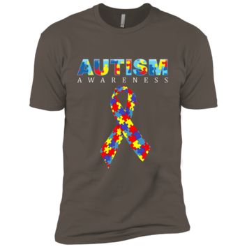 Official: autism awareness 2017 shirt- accept-understand-Lv NL3600 Next Level Premium Short Sleeve T-Shirt