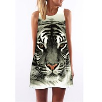 Tiger Dress for Summer