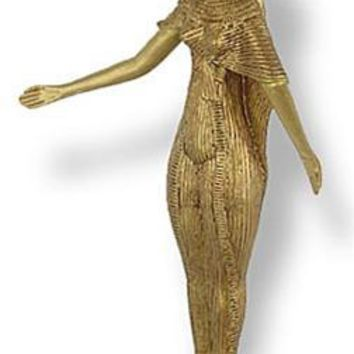 Selket King Tut Tomb Egyptian Scorpion Goddess Statue 8.25H