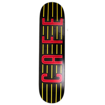 Skateboard Cafe Neon Black