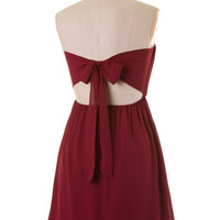 Sideline Sweetie Gameday Dress - Burgundy & White