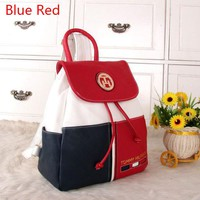"""""""Tommy Hilfiger"""" Personality Women Casual Fashion Multicolor Backpack Women Double Shoulder Bag G"""