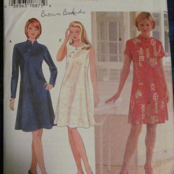 SALE Uncut Simplicity Sewing Pattern, 7114! Size 14-16-18, Medium/Large, Women's/Misses, Kimono Dresses, Summer/Spring/Fall, Short/long Slee