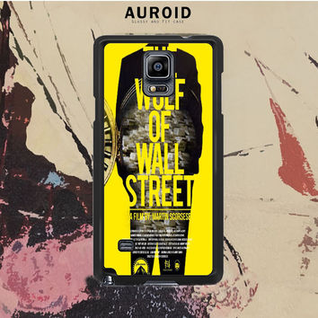 The Wolf Of Wall Street Samsung Galaxy Note 3 Case Auroid