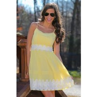 Sippin' Sweet Lemonade Dress
