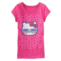 Hello Kitty Patriotic Tee - Girls 7-16, Size: