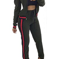 Two Piece Yoga Casual Jumpsuit