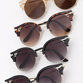 Round Frame Sunglasses (+ Colors)