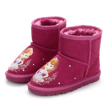UGG Baby The small animals snow boots-4