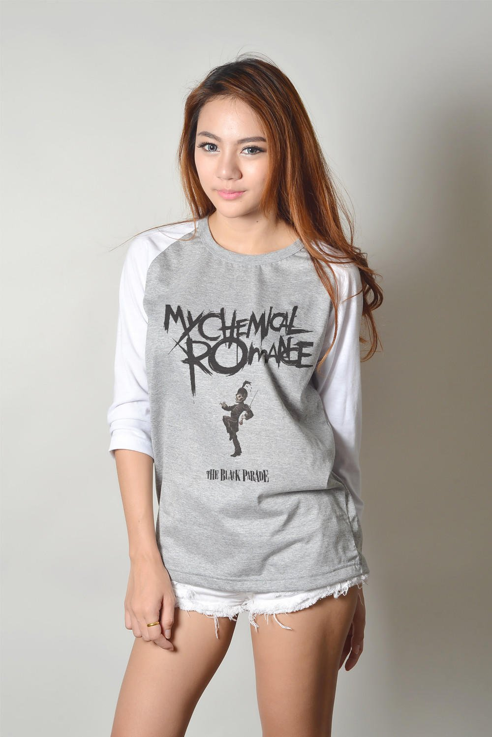My chemical romance shirt mcr rock band from luvmeluvmyshirts for Baseball button up t shirt dress