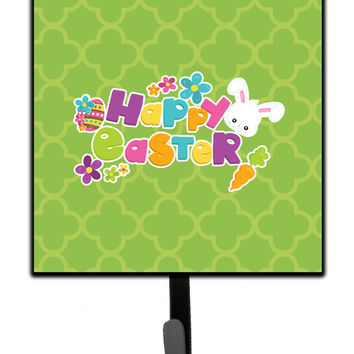 Happy Easter Green Quatrafoil Leash or Key Holder BB6900SH4