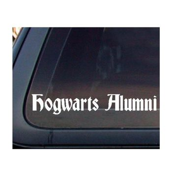 Harry Potter: Hogwarts Alumni Car Decal / Sticker