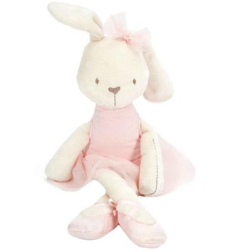 Baby Soft Plush Toys Brinquedos Plush Rabbit Bunny Stuffed Toy sleeping comfort doll Gift for Kids girls Stroller Accessories Y3