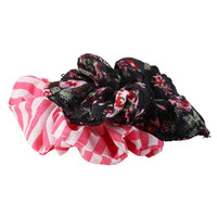 Aeropostale  Printed Scrunchie 2-Pack - Black, One