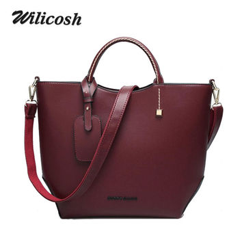 Fashion women leather handbags Messenger Shoulder crossbody bag ladies Women's Shopping Bags bolsos mujer bolsa feminina WL010