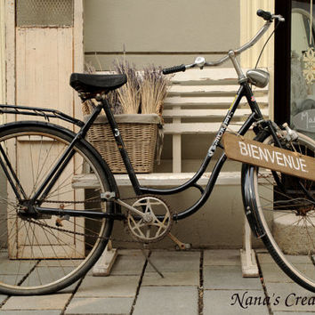 Bike Photography, Vintage Bicycle Photo, Instant download photography, Digital download, Printable Photo, Photo wall art,