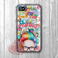 tyler oakley youtubers fana art collage-1nay for iPhone 6S case, iPhone 5s case, iPhone 6 case, iPhone 4S, Samsung S6 Edge