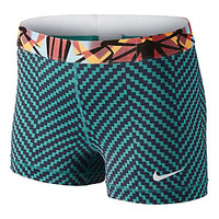 "Women's Nike Pro Core Compression 3"" Zig Zag Short 