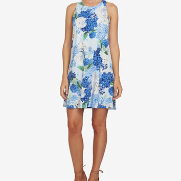 CeCe Floral-Print Shift Dress - Dresses - Women - Macy's