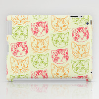 Cat Stack iPad Case by Marie Gardeski