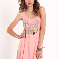 Smoke Signals Flare Tank Dress by Mink Pink - $62.00 : ThreadSence.com, Your Spot For Indie Clothing & Indie Urban Culture