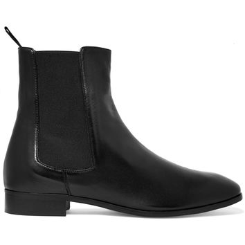 Leather ankle boots | Iris and Ink | US | THE OUTNET