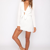 Stone Cold Fox || Desire dress in white