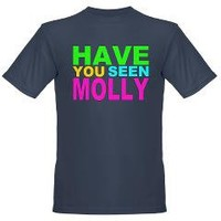 Have you Seen Molly Shirt Organic Men's T-Shirt (d> Have You seen Molly Shirt> La La Land Shirts