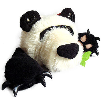 DSLR Camera Case Bag, Lovely Panda Camera Bag, Free Camera Strap Included, Made to Order