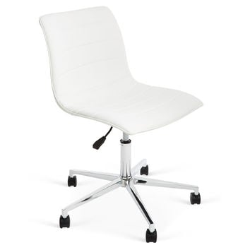 Sunny Office Chair, White, Desk Chairs