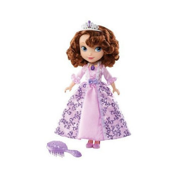 Disney Sofia the First 10-Inch Wedding Day Doll with Hair Crown & Hairbrush