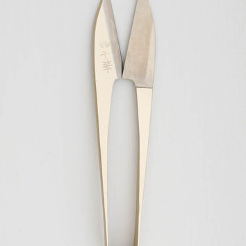 Traditional Japanese Nigiri Scissors - Gold