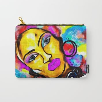 AFROTASTIC Carry-All Pouch by violajohnsonriley