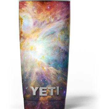 Mutli-Colored Clouded Universe Yeti Rambler Skin Kit