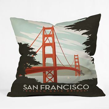 Anderson Design Group San Francisco Throw Pillow