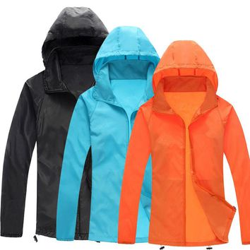 Anti-uv Outdoors Skin Rain Coat