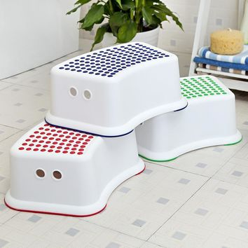 Children Bathroom Stool slip-Resistant Step Pads