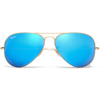 Ray-Ban - Metal Aviator Mirrored Sunglasses | MR PORTER