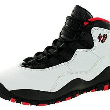 Nike Air Jordan Junior GS Big Kids Retro 10 Basketball Shoes air jordans in white