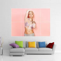 Miley Cyrus Giant Wall Art Picture Poster